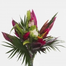 TROPICAL FLOWERS - BOUQUET ROUND